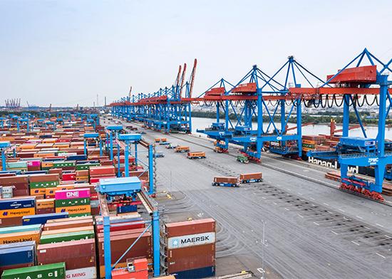 Hafenwirtschaft zur 12. Nationalen Maritimen Konferenz